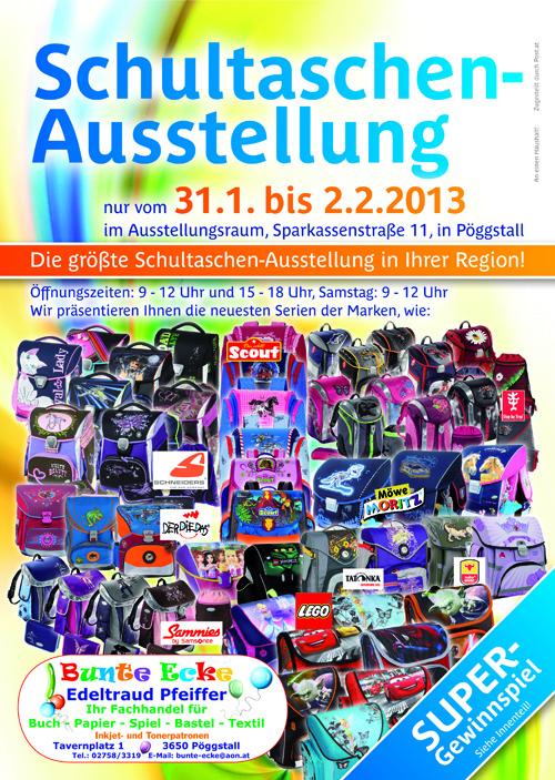 Schultaschenausstellung 2013