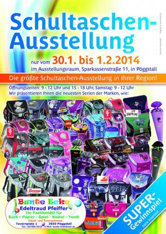 Schultaschenausstellung 2014