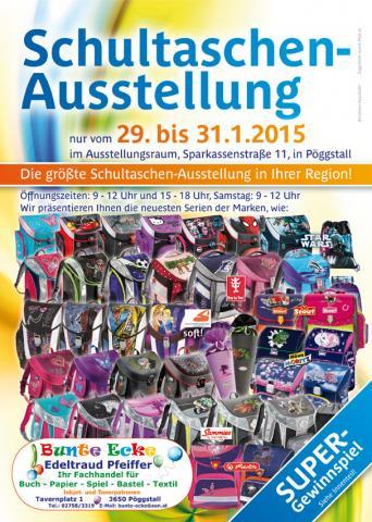 Schultaschenausstellung 2015